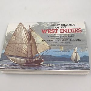 National 🗺 Geographic West Indies Map